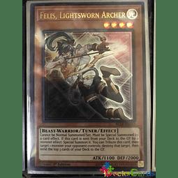 Felis, Lightsworn Archer - BLLR-EN043 - Ultra Rare 1st Edition