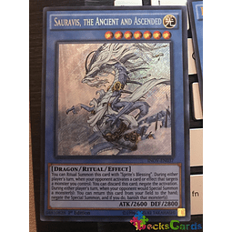 Sauravis, the Ancient and Ascended - INOV-EN037 - Secret Rare 1st Edition