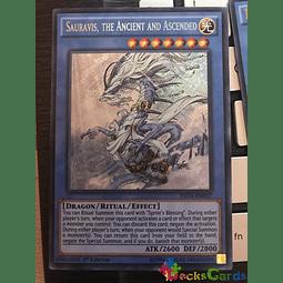 Sauravis, the Ancient and Ascended - INOV-EN037 - Secret Rare 1st Edition