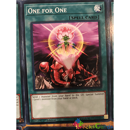 One for One - SDPL-EN029 - Common 1st Edition