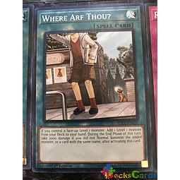 Where Arf Thou? - SDCL-EN031 - Common 1st Edition