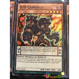 D/D Cerberus - SDPD-EN007 - Common 1st Edition