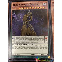 D/D Savant Galilei - SDPD-EN010 - Common 1st Edition