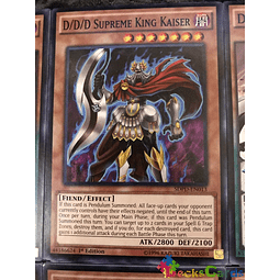D/D/D Supreme King Kaiser - SDPD-EN013 - Common 1st Edition