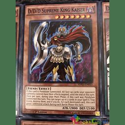D/D/D Supreme King Kaiser - SDPD-EN013 - Common 1st Edition