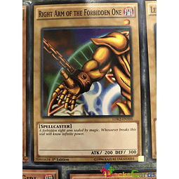 Right Arm of the Forbidden One - LDK2-ENY05 - Common 1st Edition