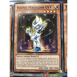 Silent Magician LV4 - LDK2-ENY14 - Common 1st Edition