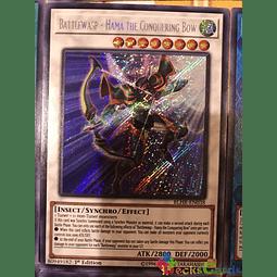 Battlewasp - Hama the Conquering Bow - BLHR-EN038 - Secret Rare 1st Edition