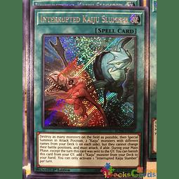 Interrupted Kaiju Slumber - BLHR-EN087 - Secret Rare 1st Edition