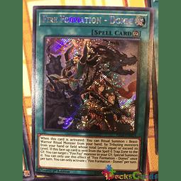 Fire Formation - Domei - FIGA-EN019 - Secret Rare 1st Edition