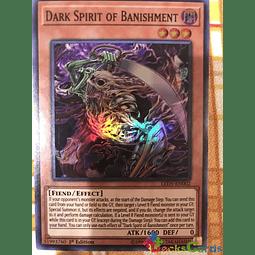 Dark Spirit of Banishment - LED5-EN002 - Super Rare 1st Edition
