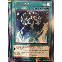 Evil Mind - LED5-EN016 - Rare 1st Edition