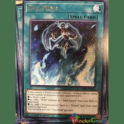 Evil Mind - LED5-EN016 - Rare 1st Edition