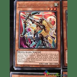Gladiator Beast Sagittarii - CHIM-EN011 - Rare 1st Edition