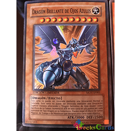 Blue-Eyes Shining Dragon - MOV-EN001 - Super Rare