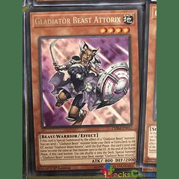 Gladiator Beast Attorix - CHIM-EN012 - Rare 1st Edition