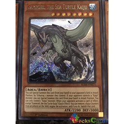 Gameciel, the Sea Turtle Kaiju - BLRR-EN075 - Secret Rare 1st Edition