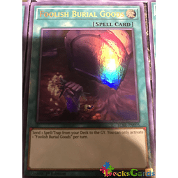 Foolish Burial Goods - BLRR-EN095 - Ultra Rare 1st Edition