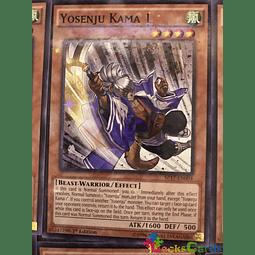 Yosenju Kama 1 - SP17-EN004 - Starfoil Rare 1st Edition