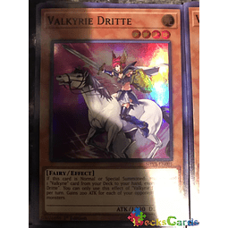 Valkyrie Dritte - SHVA-EN001 - Super Rare 1st Edition