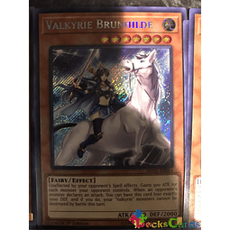 Valkyrie Brunhilde - SHVA-EN004 - Secret Rare 1st Edition