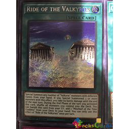 Ride of the Valkyries - SHVA-EN006 - Secret Rare 1st Edition
