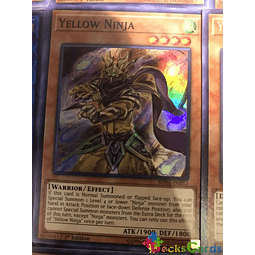 Yellow Ninja - SHVA-EN012 - Super Rare 1st Edition