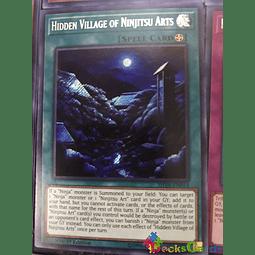 Hidden Village of Ninjitsu Arts - SHVA-EN014 - Secret Rare 1st Edition