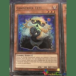 Ghostrick Yeti - AC18-EN004 - Super Rare 1st Edition
