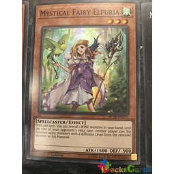 Mystical Fairy Elfuria - AC18-EN010 - Super Rare 1st Edition