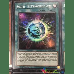 Sabatiel - The Philosopher's Stone - AC19-EN006 - Super Rare 1st Edition