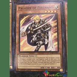 Paladin of Felgrand - SDRR-EN017 - Common 1st Edition