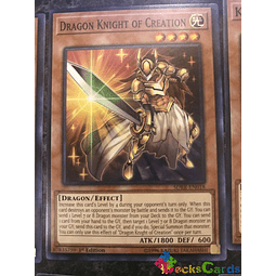 Dragon Knight of Creation - SDRR-EN018 - Common 1st Edition