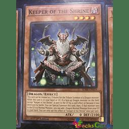 Keeper of the Shrine - SDRR-EN019 - Common 1st Edition