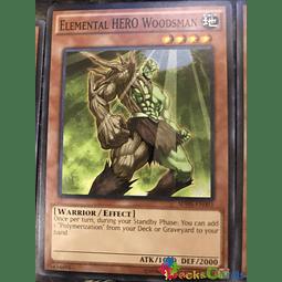 Elemental Hero Woodsman - SDHS-EN003 - Common Unlimited