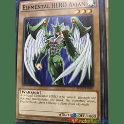 Elemental Hero Avian - SDHS-EN006 - Common Unlimited