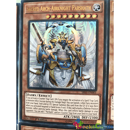 Sacred Arch-Airknight Parshath - SR05-EN001 - Ultra Rare 1st Edition