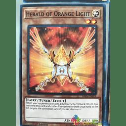 Herald of Orange Light - SR05-EN019 - Common 1st Edition
