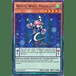 White Wing Magician - PEVO-EN005 - Ultra Rare 1st Edition