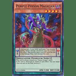 Purple Poison Magician - PEVO-EN006 - Ultra Rare 1st Edition
