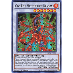 Odd-Eyes Meteorburst Dragon - PEVO-EN032 - Super Rare 1st Edition