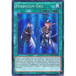 Pendulum Call - PEVO-EN036 - Super Rare 1st Edition