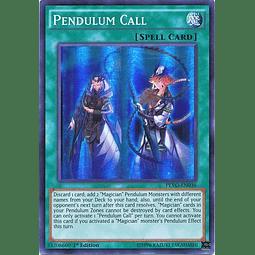 Pendulum Call - PEVO-EN036 - Super Rare 1st Edition