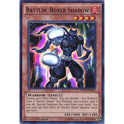 Battlin' Boxer Shadow - WSUP-EN013 - Super Rare 1st Edition