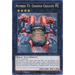 Number 55: Gogogo Goliath - WSUP-EN007 - Super Rare 1st Edition