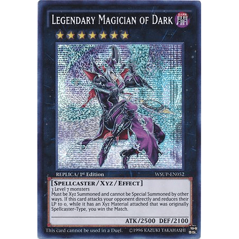 Legendary Magician of Dark - WSUP-EN052 - Prismatic Secret Rare 1st Edition