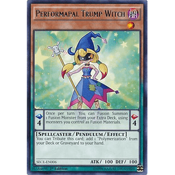 Performapal Trump Witch - SECE-EN006 - Rare 1st Edition