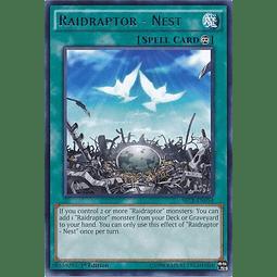 Raidraptor - Nest - SECE-EN054 - Rare 1st Edition