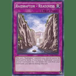 Raidraptor - Readiness - SECE-EN070 - Common 1st Edition
