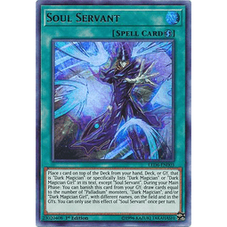 Soul Servant - LED6-EN003 - Ultra Rare 1st Edition